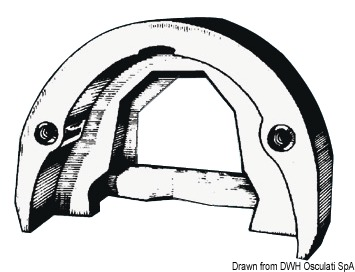 Anode, OMC Cobra Outdrive - Code 43 308 00