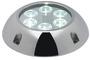 Lampa podwodna do oświetlania podwodzia / pawęży rufowej / trapów - Underwater spot light w/ 6 white LEDs - Kod. 13.284.01 14