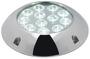 Lampa podwodna do oświetlania podwodzia / pawęży rufowej / trapów - Underwater spot light w/ 6 white LEDs - Kod. 13.284.01 19