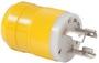 Marinco 4-wire triophase socket AISI 316 - Artnr: 14.487.09 36