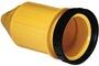 Marinco 4-wire triophase socket AISI 316 - Artnr: 14.487.09 41