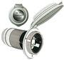 Marinco 4-wire triophase socket AISI 316 - Artnr: 14.487.09 39