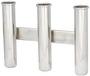 Wall mounting rod holder AISI 316 Nr. 3 rods - Artnr: 41.167.80 6