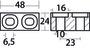 Plate anode Suzuki 55/225 HP - Code 43.272.30 4