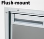 Flush mount frame for Coolmatic CR50S Inox fridge - Code 50.906.03 6