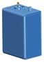 Zbiornik paliwa typu benzyna/ ropa naftowa z polietylenu siatkowego. - Pojemność l 114 - Kod. 52.036.10 23