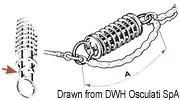 Anlegefeder, rost. HD-Stahl 500 mm - Art. 01.200.16 4