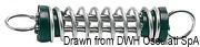 Anlegefeder, schallgedämpft 73 x 400 mm - Art. 01.202.11 3