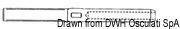 """Ściągacz do lin otwarty ze stali nierdzewnej - Turnbuckle 3/8"""" for cable 5 mm - Kod. 07.183.04 7"""