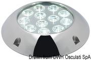 Lampa podwodna do oświetlania podwodzia / pawęży rufowej / trapów - Underwater spot light w/ 6 white LEDs - Kod. 13.284.01 25