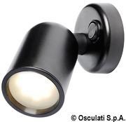Schwenkbare LED-Leuchte aus ABS, schwarz - Art. 13.517.00 6