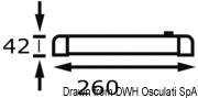 Turnstripe schwenkbare 9-LED-Schienenleuchte - Art. 13.838.01 8