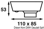 Batsystem Eyelight halogen spotlight 12 V 8 W - Code 13.870.74 8
