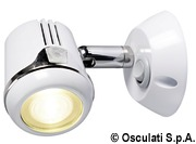 Articulated HI-POWER LED white spotlight 12/24 V - Code 13.896.01 12