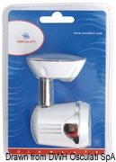 Articulated HI-POWER LED white spotlight 12/24 V - Code 13.896.01 15