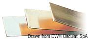 Kupferplatte, verzinkt 2 x 20 mm (4,20 m Stange) - Art. 14.392.00 2