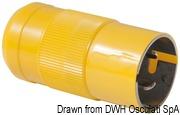 Marinco 4-wire triophase socket AISI 316 - Artnr: 14.487.09 62