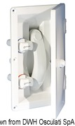 Whale flush mount shower no cover cold/hot water - Code 17.031.06 5
