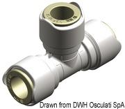Быстроразборные водопроводные соединения WHALE - Тройник 6
