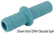 Cylindrical straight fitting for 16mm-hose 6
