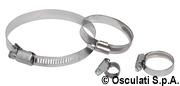 Schlauchschelle AISI 316 12 x 40-60 mm - Packung á 10 st. 9