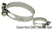 Collier de serrage Heavy Duty AISI 316 86/94 mm - Art. 18.025.06 7