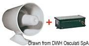 Elektrische Zweiton-Sirene 12 V - Art. 21.467.12 2