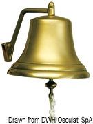 Schiffsglocke Bronze 210 mm RINA-Zulassung bis 20m - Art. 21.532.00 4