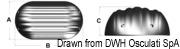 Odbijacz wielofunkcyjny burtowy/rufowy - Niebieski - Kod. 33.502.21 11