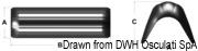 Odbijacz dziobowy do łodzi żaglowych najnowszej generacji - Parabordo prua 770 mm blu - Kod. 33.503.02 15