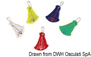 Key ring mod. sail boat mixed colours Packaging containing N. 10 assorted items - Code 35.822.00 20