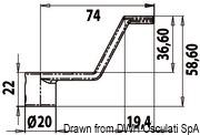 Uchwyt denny winch - Flush latch for winch handle - Kod. 38.165.01 13