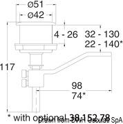Uchwyt denny winch - Flush latch for winch handle - Kod. 38.165.01 11