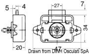 Druckknopfschloß Nylon/Messing, verchromt 16 mm - Art. 38.182.09 4