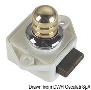 Schloß pol.Mess Ovaloid 16mm - Art. 38.182.08 2