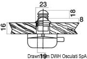 Schloß pol.Mess Ovaloid 16mm - Art. 38.182.08 3