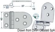 Winkelscharnier 59x40 mm - Art. 38.441.58 3