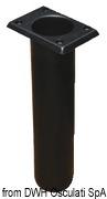 Portacanne polipr. ovale UV stab. bianco 240 mm - Code 41.164.06 26
