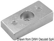 Płyta - Magnesium anode Mercury 30/300 HP - Kod. 43.424.09 4