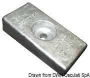 Płyta - Magnesium anode Mercury 30/300 HP - Kod. 43.424.09 6