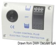 Schalttafel f.elektrische Bordtoiletten 24 V - Art. 50.207.08 2