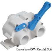 Y valve for toilet - Code 50.233.38 5