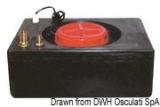 Zestaw do uniezależnienia urządzenia do lodu od sieci wodnej. Pobiera wodę z własnego oddzielnego pojemnika. - Kod. 50.840.01 4