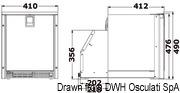 Urządzenie do lodu White Ice Low Profile ISOTHERM by Indel Webasto Marine - Ice Maker Low Profile - Kod. 50.841.00 9