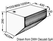 Rigid water tank100 l - Code 52.195.10 5