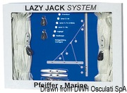 Lazy Jack System bis 30 Fuß - Art. 67.762.00 2