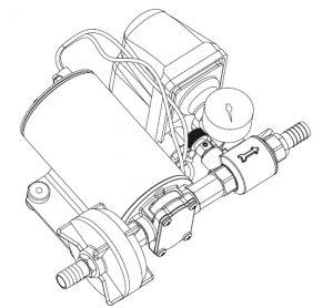 marco dp9 deck washing pump kit 4 bar  12 volt