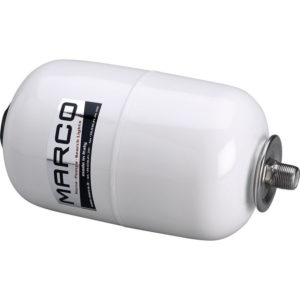 """Marco AT2 Accumulator tank, white 5 l with 3/4"""" T-nipple 4"""