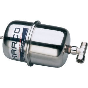 "Marco ATX2 Stainless steel accumulator tank 2 l with 1/2"" T-nipple 4"