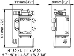 Marco OCK1-E Reversible oil/diesel transfer kit 8